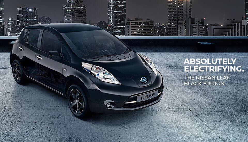 At Arbury Nissan, the future's looking Black…