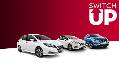 Switch up to a new Nissan