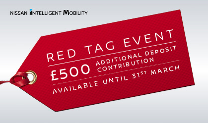 Nissan Red Tag Event